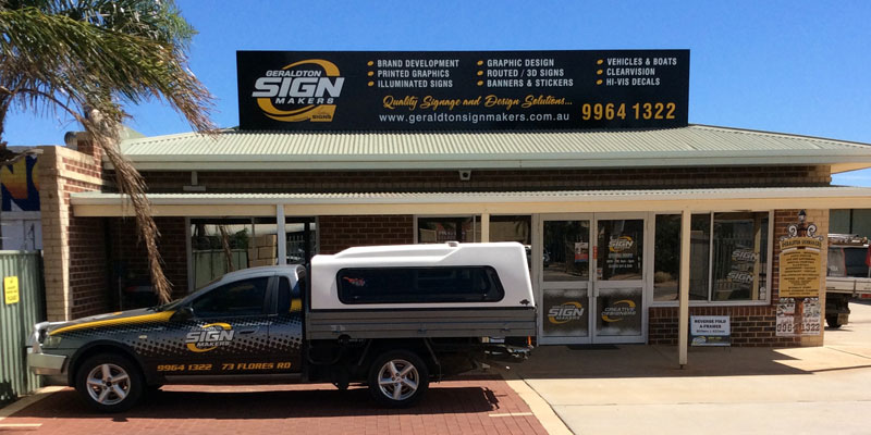 Geraldton Signmakers Car and Building